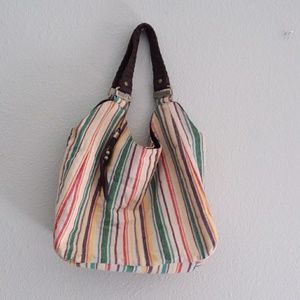 Roxy stripped handbag